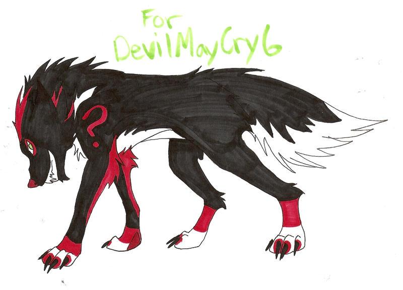 Request 4 DevilMayCry6 by KechiOokamiDoragon