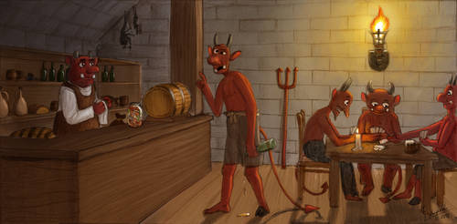 Devil's tavern by NightFury1020