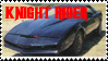 Knight Rider Stamp by KnightFox