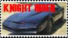 Knight Rider Stamp by KnightFox