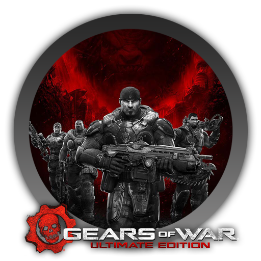 how to draw gears of war logo