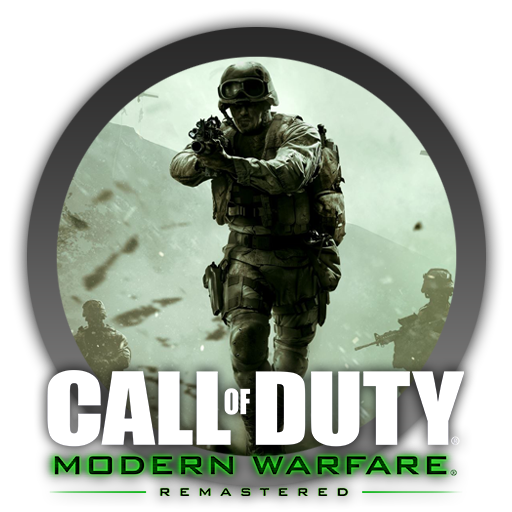 call of duty modern warfare remastered icon by. Black Bedroom Furniture Sets. Home Design Ideas