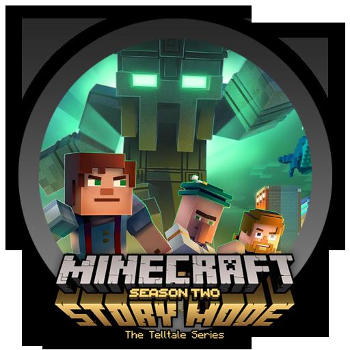 minecraft story mode season 2 logo