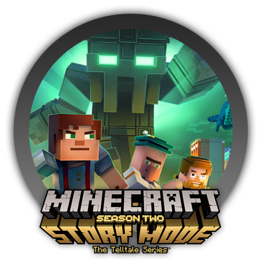 Minecraft Story Mode Season Two Icon By Blagoicons On Deviantart