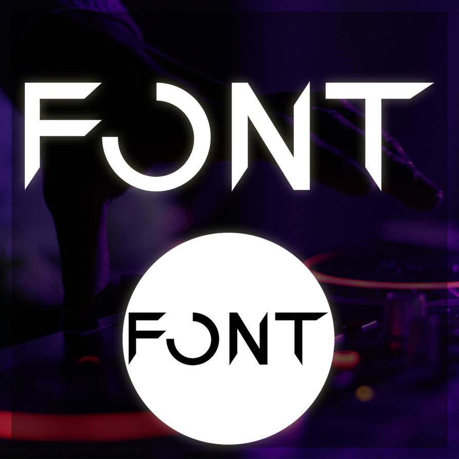 FONT Music Logo by Blagoicons
