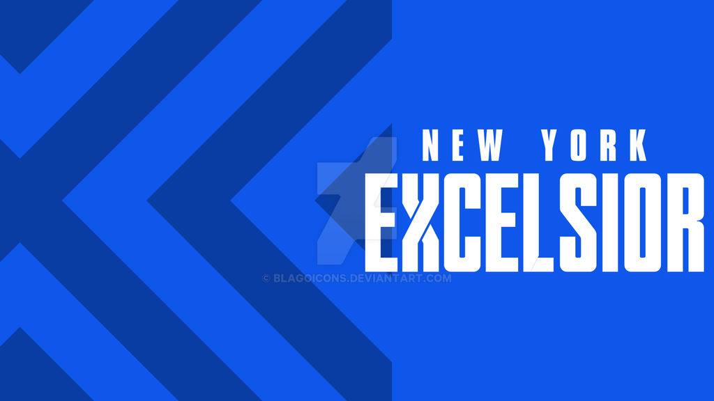 Overwatch League N Y Excelsior Wallpapers By Blagoicons