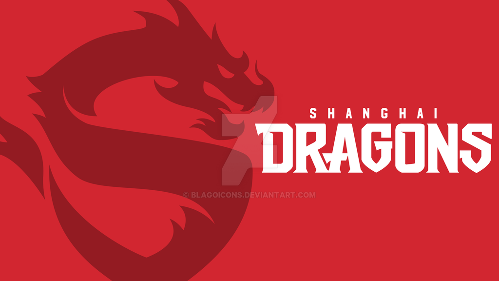 Overwatch League Shanghai Dragons Wallpapers By Blagoicons On