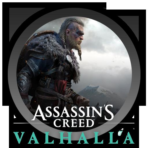 assassins creed valhalla logo transparent