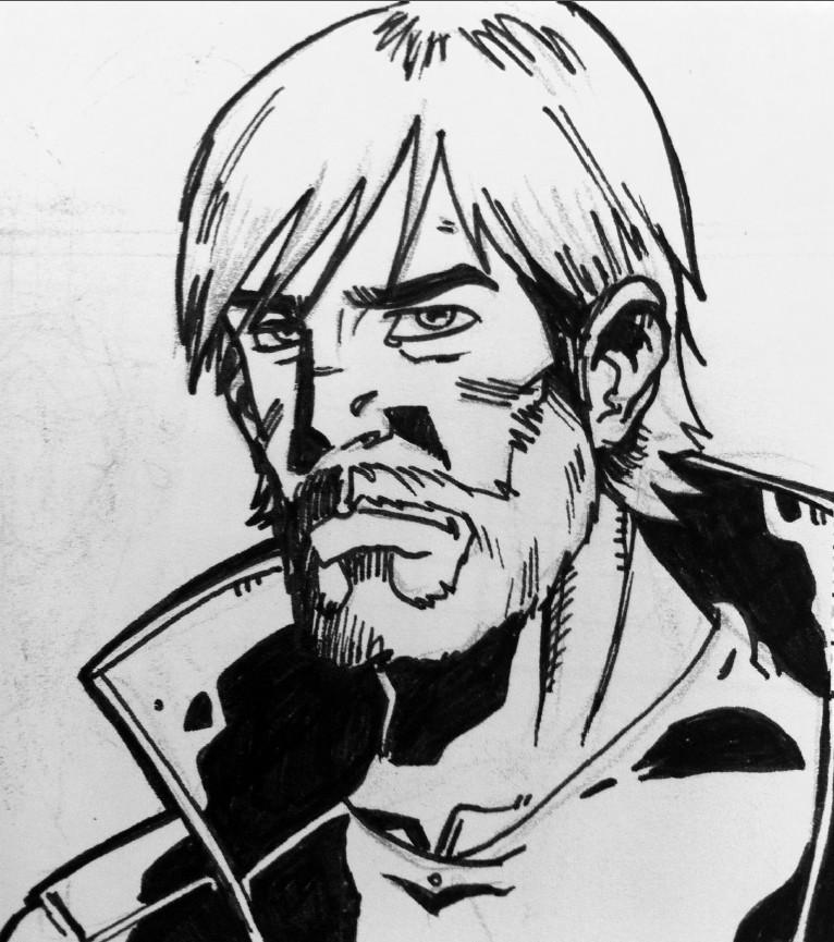 Rick Grimes - Walking Dead by MS82 on DeviantArt