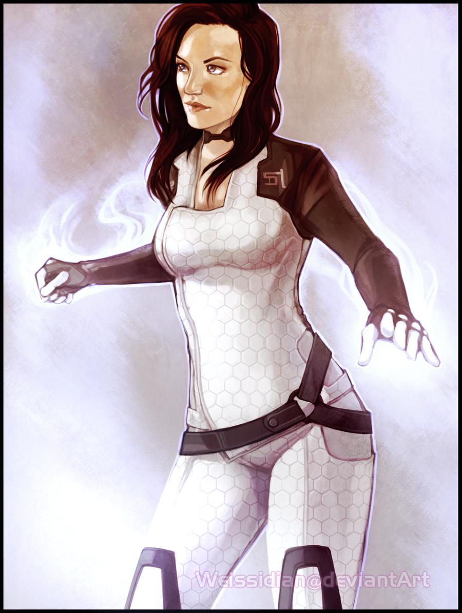 ME: Miranda Lawson by Weissidian