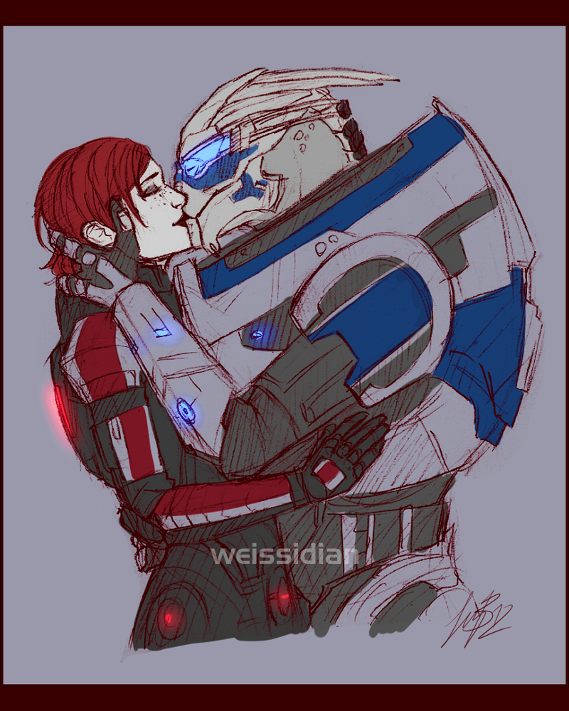ME: Smooches by Weissidian