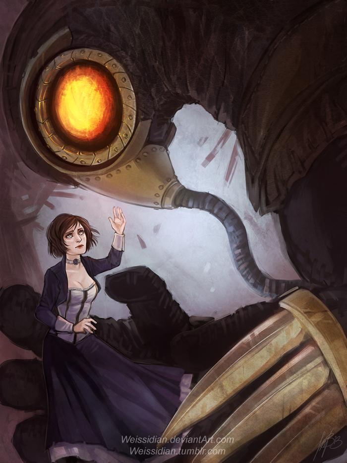 Bioshock Infinite: Elizabeth by Weissidian