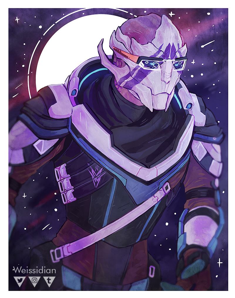 ME: Vetra Nyx by Weissidian