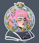 space flower by ppinkugey