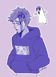 ghost boy by ppinkugey