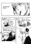 Let's play pocky game! pg.1 by ChellinC