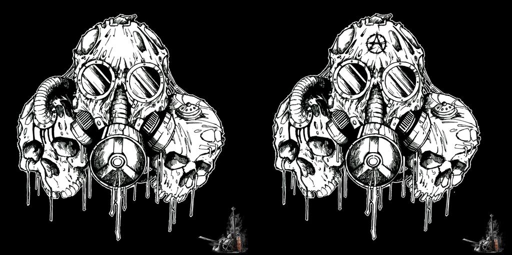 acrania sticker by narcoticnightmares on deviantart