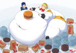 big blob aigis make me happy
