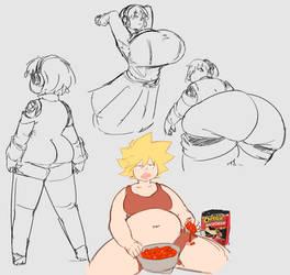 agis and her fat huge ass loooo
