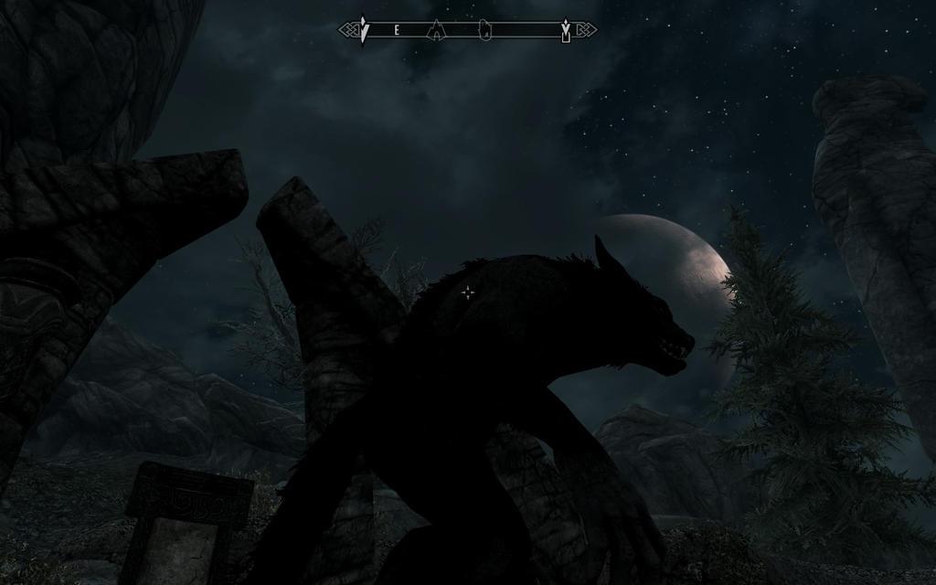 werewolf skyrim art