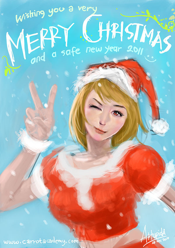 Merry Christmas n Happy Nuyear by artupida