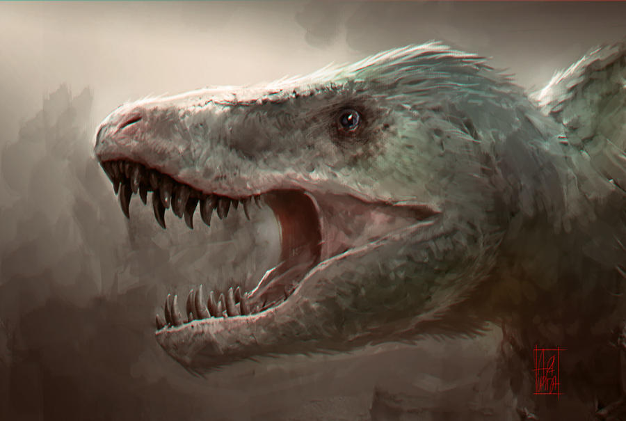 How T-Rex Should Looked Like - Jurassic World by artupida