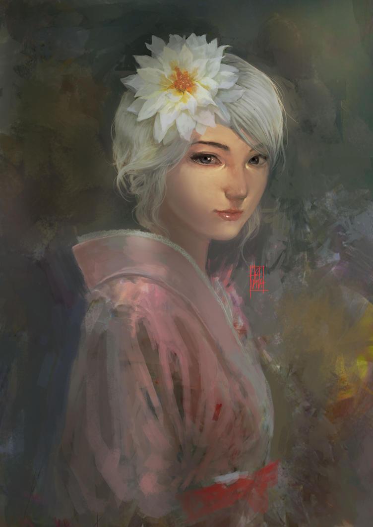 Daenerys Targaryen Japanese Version :D by artupida