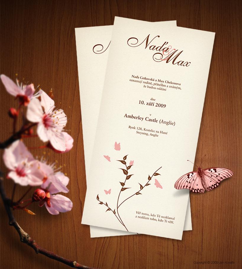 Wedding invitation by jankovarik on deviantart for Wedding invitations layout examples