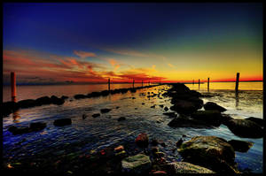 Sunset by Honosuke