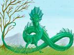 Lindworm Dragon Request