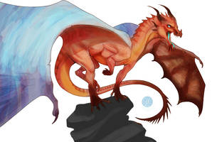 Red Dragon by Caerulai