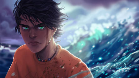 Son of the Sea by Caerulai