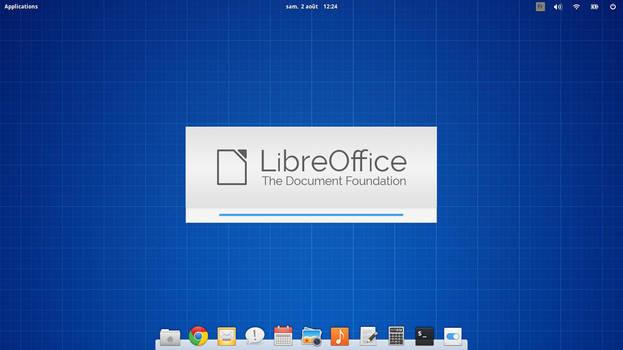 splash screen libre office elementary OS