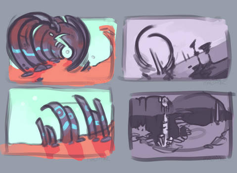Scenery Sketches