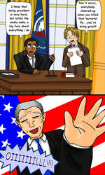 APH: America, Obama and Bush by fiori-party