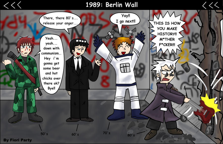 G-WTF: Berlin Wall by fiori-party on DeviantArt