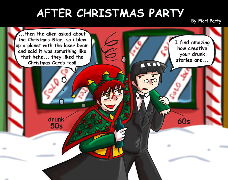 After Christmas Party by fiori-party on DeviantArt