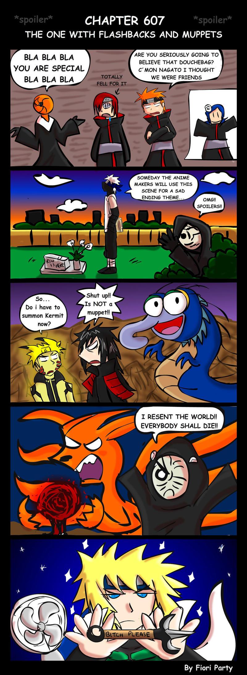 Spoiler Naruto Manga 607 by fiori-party