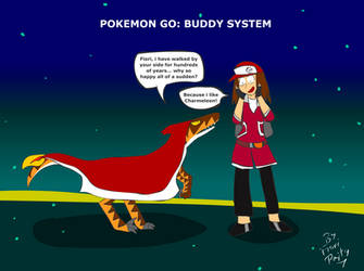 Pokemon Go: Buddy System by fiori-party
