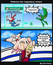 PokemonGo: Legendary Rumors by fiori-party