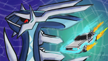 Dialga and DeLorean