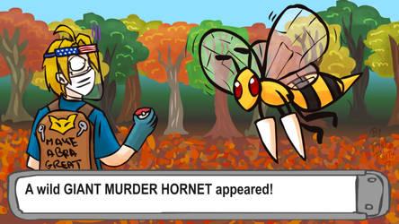 Giant Murder Hornet