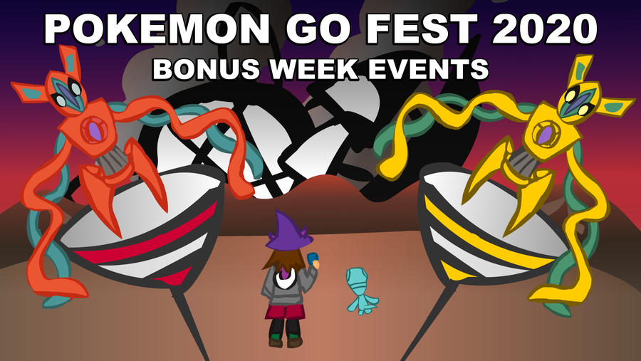 (Animation)PokemonGo Fest 2020 - Bonus Week Event