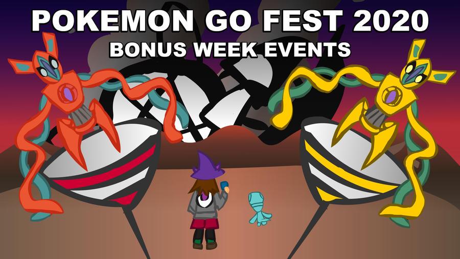 (Animation)PokemonGo Fest 2020 - Bonus Week Event