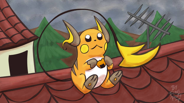 Pokemon #26 Raichu