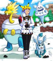 Pokemon Trainer and buddies