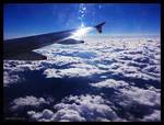 Flight to Barcelona by kosmikitten