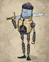 One of Feudal Alloy character equipment sets