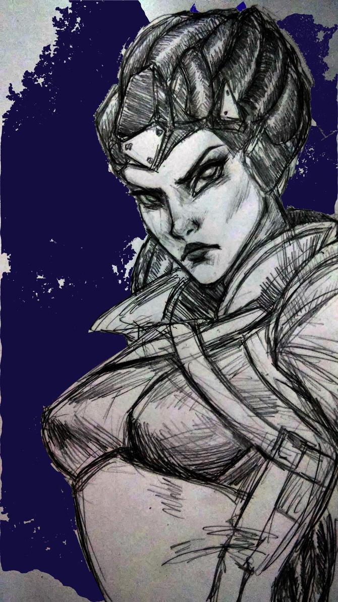 Widowmaker - Amelie Lacroix by SenChan
