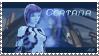 Cortana fan stamp by shadowrox1